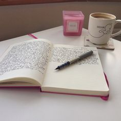 Always love writing with a nice cup of coffee or tea! <3