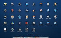 Si vous avez switché sur Lion, vous bénéficiez d'une des grandes nouveautés de Mac OS X, le LaunchPad, l'écran lanceur d'applications, à la manière du springboard comme de l'iPhone ou de l'iPad. Voilà, seulement autant si sur iPhone et iPad...
