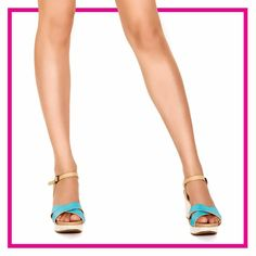 Hit the November rains in style with a pair of the #Solemate available at #INTOTO  #wedges #blue