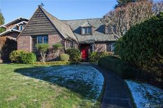 1935 Storybook Tudor. 3630 Magnolia Blvd W. Arts and Crafts style; whimsical original details--stained/ leaded glass windows,original Dowel & Butterfly wood flrs. 7K lot c studio. Reminds me of ken & kathy's house.