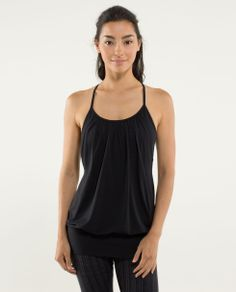 no limits lululemon tank! My favorite tank so far. Want one in every color! fav color : blue moon/ziggy wee august inkwell.