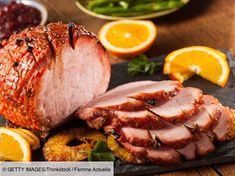The Daily Meal shares a recipe for a simple rum-glazed ham perfect for feeding a large crowd during holidays and special occasions. Cookbook Recipes, Meat Recipes, Slow Cooker Recipes, Crockpot Recipes, Ham Glaze Brown Sugar, Honey Glazed Ham, Slow Cooker Pasta, Slow Cooker Tacos, Best Ham Glaze