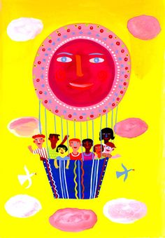 Balloon by Christopher Corr - art print from King