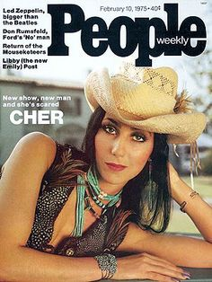 photo | Cher, 1975, Cher Cover, Divas, When They Were Young, Hollywood Heyday, Cher