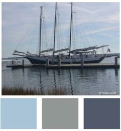And it's one of the reasons blue is so calming. Sail away. #color #photography #charlotte #clt