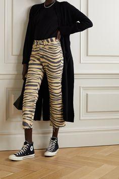 People Tree Felicity Stripe Top T-Shirt /À Manches Longues Femme