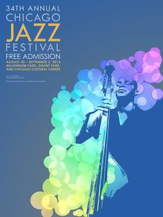 Missed the poster submission deadline.  #chicago #jazz #design #typography