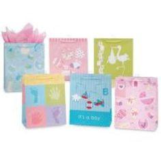 baby gift bags - medium Case of 144