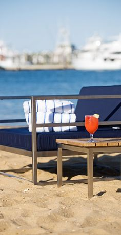 Chill out with a beachside cocktail