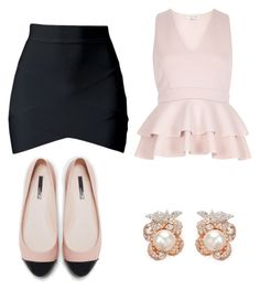 """""""Untitled #138"""" by ana-gabriela801 on Polyvore featuring Zara, River Island and Anabela Chan"""