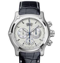 Ebel limited edition 500 stuks wereldwijd € 5250,- Ter gelegenheid van het 100 jarig bestaan van de Ebel horloge fabriek is deze automaat chronograaf horloge uitgegeven.  www.juweelco.nl