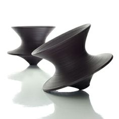Spun by Heatherwick. A chair that spins like a top. Oh wonderlust!