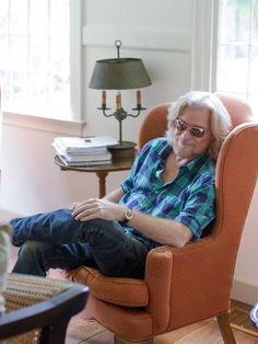 Self-confessed history buff Daryl Hall takes a moment to soak in the centuries-old ambiance in his historic, but yet-to-be-refurbished, Connecticut home.