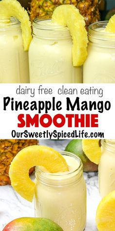 Mango Piña Colada Smoothie- You are in the right place about Food Recipes Here we offer you the most beautiful pictures about the Food Recipes for kids you are looking for. When you examine the Mango Piña Colada Smoothie- part of the picture you can … Smoothie Bowl Vegan, Smoothies Vegan, Breakfast Smoothie Recipes, Easy Smoothie Recipes, Easy Smoothies, Smoothies For Kids, Homemade Fruit Smoothie Recipes, Smoothies With Coconut Milk, Pina Colada Smoothie Recipe