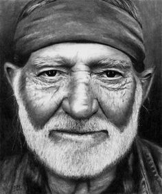 Willie Nelson #drawing - Rick Forston - www.DrPencil.com