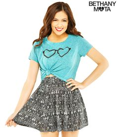 Gorgeous Owl Skater Skirt from Bethany Mota's Clothing Line