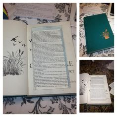Great idea by Miss Roni Coffer. Cut out pages of an old book for secret storage