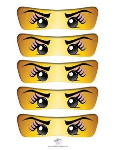 Ninja girl eyes