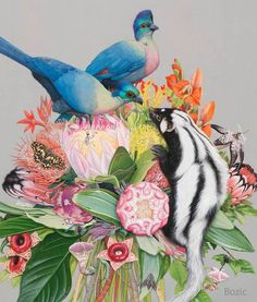Fauna and Flora in Tiffany Bozic Delicate Illustrations – Fubiz Media