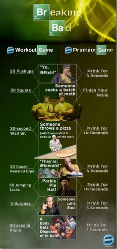 Breaking Bad workout.