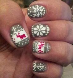 Winter nails I have these and LOVE THEM