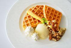 Honey vanilla waffle
