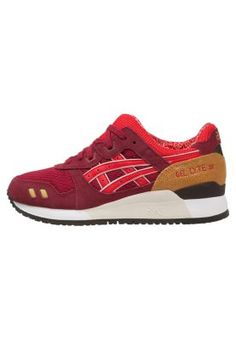 Sneakers ASICS GEL LYTE III - Sneakers laag - burgundy/fiery red Donkerrood: € 109,95 Bij Zalando