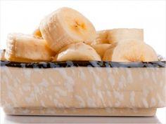 Healthy Snack Frozen Banana Cubes