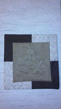 trapunto+ patchwork vankúš
