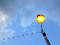 sun goes down @C H my home
