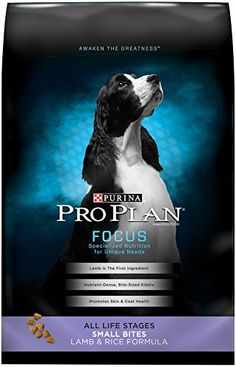 Purina Pro Plan Dry Dog Food Focus Small Bites Lamb  Rice Formula 375Pound Bag Pack of 1 -- Click image for more details.