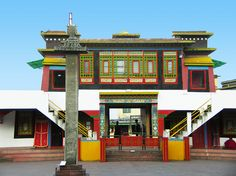 Rumtek Monastery - East Sikkim, India (Photographic Print - Unframed) Gangtok, Place Of Worship, India Travel, Study Abroad, Tourism, Photographic Prints, Dolls, History, Places