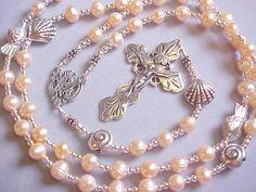Stella Maris Fresh Water   Cultured Pearl Rosary...