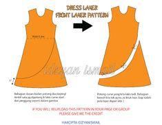 Proud sewist pola dress layer layer dress pattern – Artofit - CraftIdea. Beginner Sewing Patterns, Dress Sewing Patterns, Clothing Patterns, Gaun Dress, Kurta Patterns, Bodice Pattern, Sewing Blouses, Kurta Designs Women, Fashion Sewing
