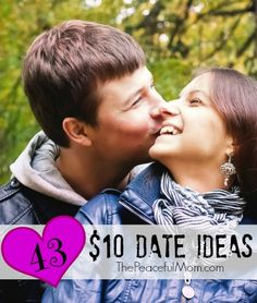 Need to have fun on a budget? Try these 43 Ten Dollar Date Ideas PLUS see how we make extra money to pay for dates! -- from ThePeacefulMom.com