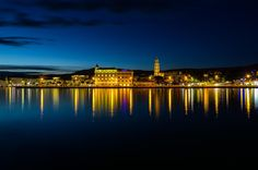 Split by night by Mislav Glibota on 500px