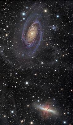 Galaxias M81 y M82.