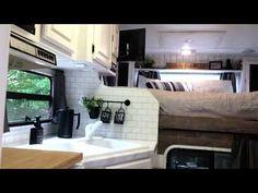 Camper Life, Diy Camper, Camper Ideas, Best Truck Camper, Lance Campers, Rv Homes, Cab Over, Camper Makeover, Camper Renovation