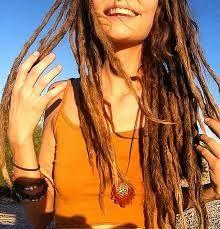 Resultado de imagem para dreads femininos finos