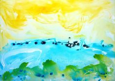 Vera Komnig www.verakomnig.com No. 358 Acrylic and enamel on canvas 100x 140 cm $ 8,600 .- Available at Saatchi Art Gallery: http://www.saatchiart.com/art/Painting-No-358/695057/2185959/view