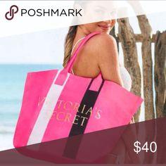 Victoria's Secret tote Victoria's Secret large tote. Brand new in online packaging. Victoria's Secret Bags Totes