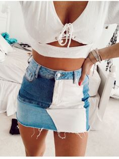 Trendy Summer Outfits, Preppy Outfits, Cute Casual Outfits, Stylish Outfits, Spring Outfits, Teenage Outfits, Teen Fashion Outfits, Outfits For Teens, Girl Outfits