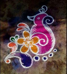 Rangoli Designs for Kids