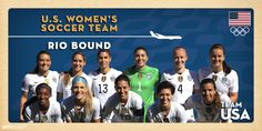 U.S. Women's Soccer Team Qualifies For Rio 2016 Olympic Games