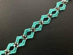 bracelets with beads Beaded Bracelet Patterns, Jewelry Patterns, Beaded Jewelry, Beaded Necklace, Rope Necklace, Jewellery, Making Bracelets With Beads, Bracelet Making, Jewelry Making