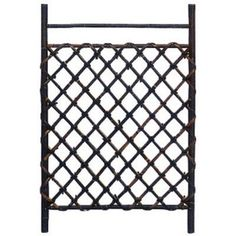 Dark Stained Japanese Style Garden Trellis by ORIENTAL FURNITURE. $71.00. WD96231 Features: -Trellis.-Can be used for indoor gardens and outdoor areas.-Designed to build a low Japanese style bamboo fence.-Recommended for areas protected from direct exposure.-Unique and beautiful.-Great for creating a barrier in a covered garden or to grow vines. Construction: -Constructed of bamboo.
