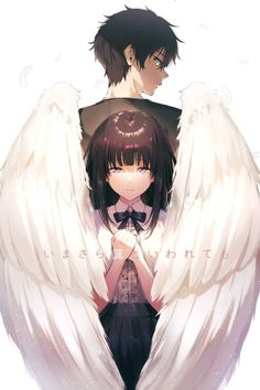 Online store anime merchandise: clothes, figurines, manga and much more. Come and choose for yoursel Manga Anime, Fanarts Anime, Anime Couples Manga, Cute Anime Couples, Anime Girls, Anime Angel, Couple Manga, Anime Love Couple, Anime Cosplay