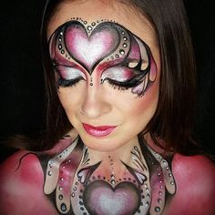 Entry to our #dupelove #competition by @fabulousfaces77 #mua #makeup #faceart #facepaint #faceartist #onestroke #magazineforcreatives #creativemakeup #dupemag
