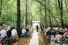 A CLASSIC & ROMANTIC WEDDING IN THE WOODS | KEARA + KEVIN - Wedding Planner & Guide