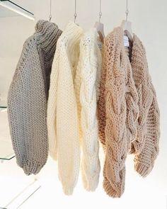 Nice sweaters~
